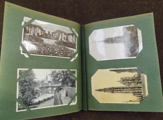1920 to 1940 social history and to do postcard album - x200 full album