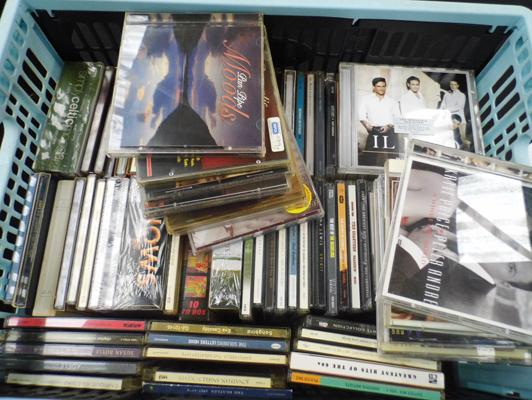 Large collection of CD's of various genres