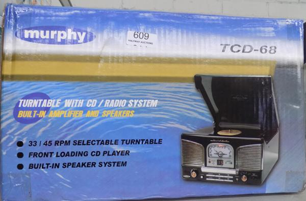 Murphy turntable/ CD player - as new