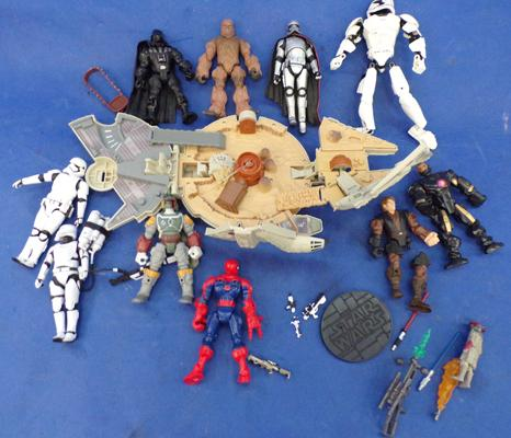 Star Wars toys & other