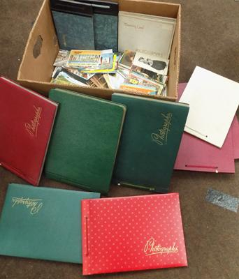 Large selection of postcards & albums