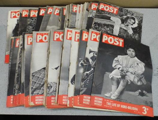 Approx. 79 Picture Post magazines, WWII, 1939 - 1948 (61 are War time)