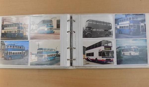 Album of single and double decker buses 1960-1980