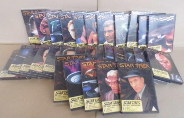 Collection of Star Trek DVD's sealed (50)