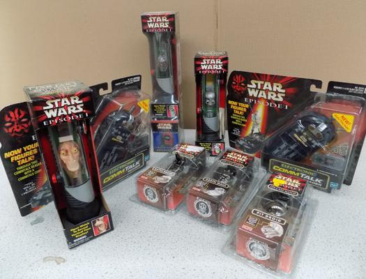 Star Wars episode 1 sealed items (8)