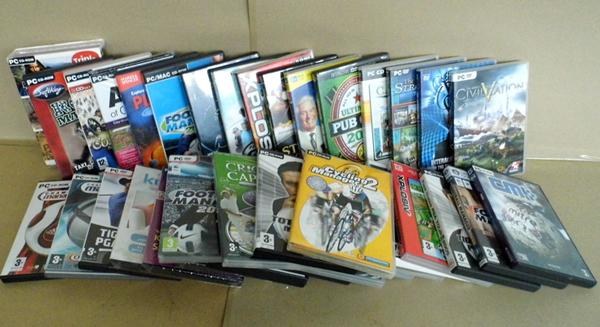 Selection of PC games-some sealed