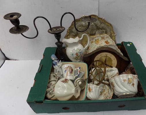 A collection of mixed items, incl. antiques & collectables