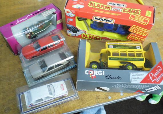 Selection of diecast cars, incl. Matchbox, Jetcar Norev, Brum Cycle car etc...