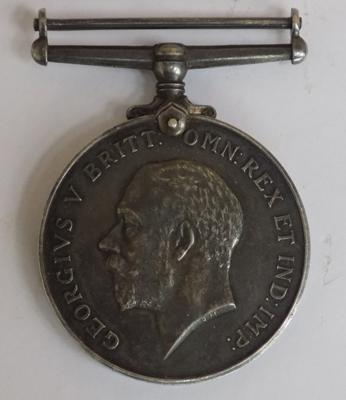 WWI 1914-1918 British War medal presented to S.F. Andrews, A.B.R.N.