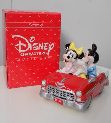 Boxed Schmid Mickey Mouse music box