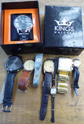 Selection of watches inc vintage cocktail watches