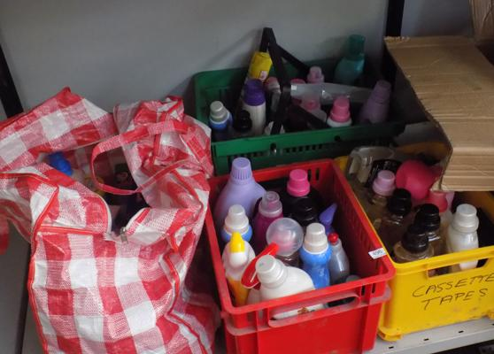 Large selection of cleaning products