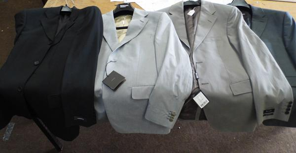 4 x jackets, incl. Sand, Facis, Gibson, Karl Lagerfeld