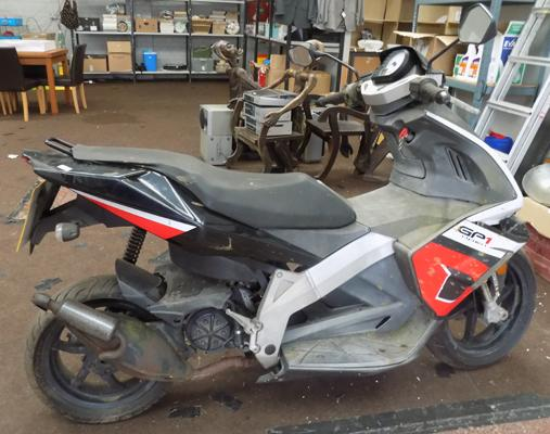 GP1 Open scooter/moped, as spares or repairs