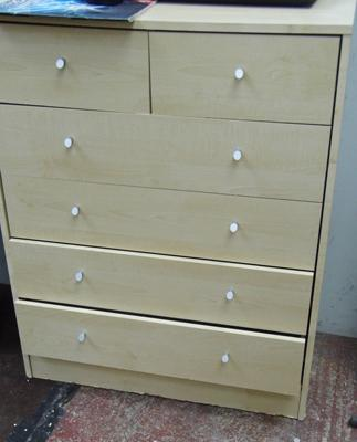 2 over 4 chest of drawers