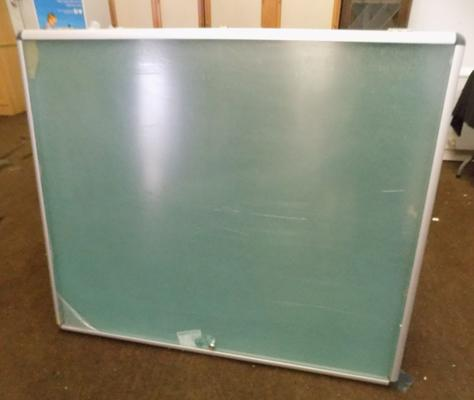 Large lockable new advertising pin board