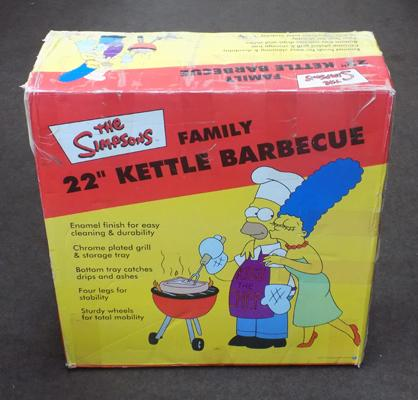The Simpsons unused, boxed barbecue