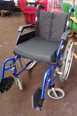 Enigma wheelchair - self propelled
