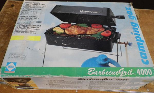 Barbecue grill hood