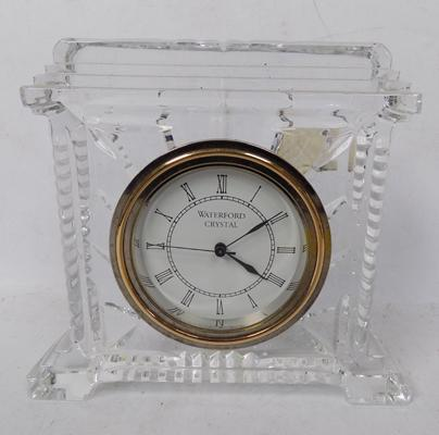 Waterford glass clock