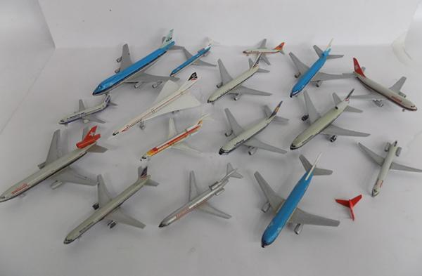 Diecast planes. early 80's Schabak models