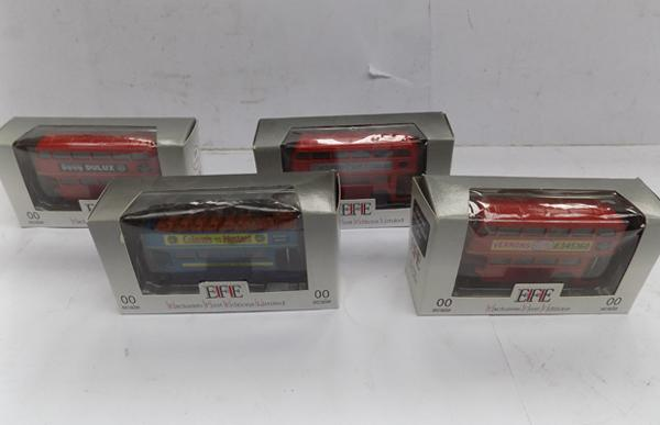 4 EFE buses - all boxed