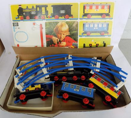 Lego train. late 70's set 182. Boxed with instructions