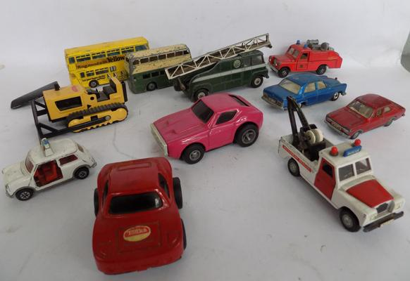 Selection of diecast-Dinky & Tonka