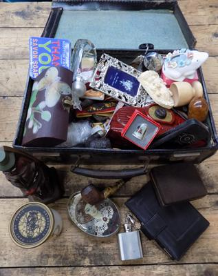 Suitcase full of collectables