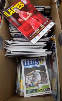 Large selection of Champions League Programmes & more