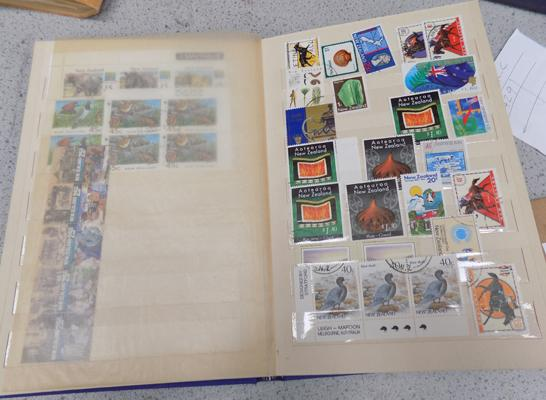 Selection of New Zealand stamps