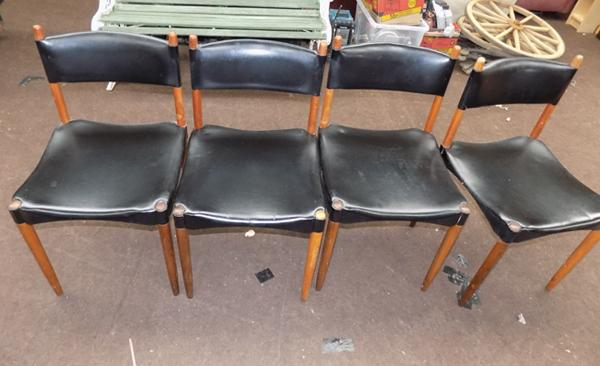 Four Anders & Jenson chairs