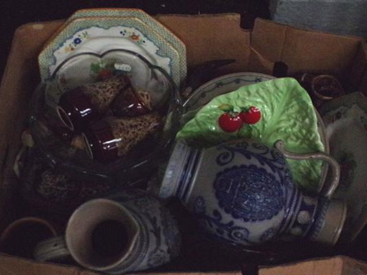 Selection of pottery & ceramics inc Fosters, Carltonware etc