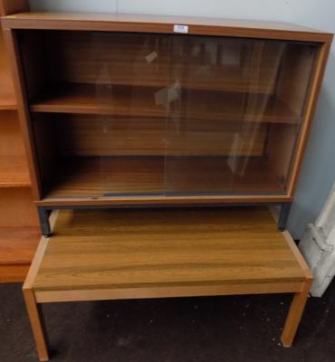 Coffee table & display cabinet