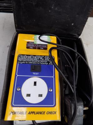 Parkerbell PAC 500 SP pat test machine w/o