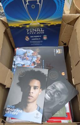 Large selection of assorted programmes, incl. Finals