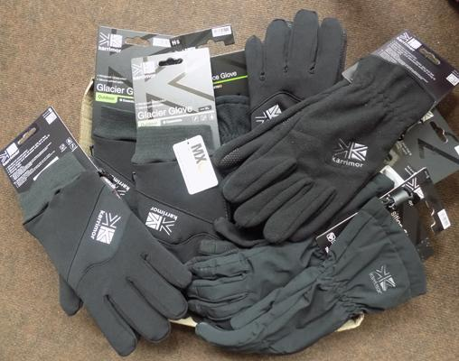Box of new gloves - RRP approx. £200