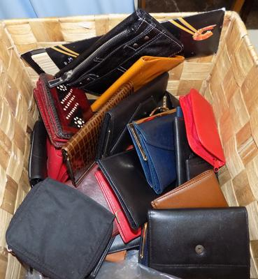 Selection of purses/wallets etc