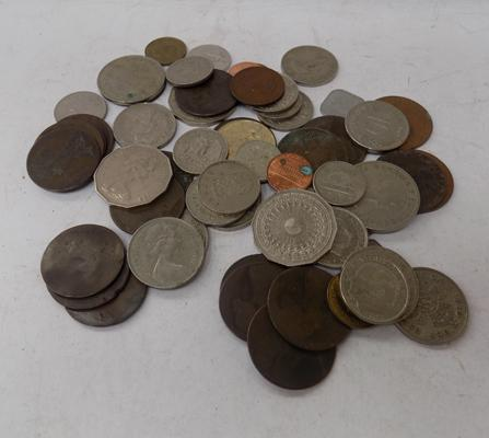 Collection of mixed coins