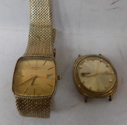 Pair of vintage gents wristwatches