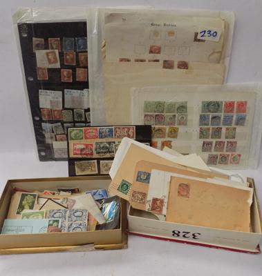 GB comprehensive range of stamps, incl. many Queen Victoria, Edward VII etc...