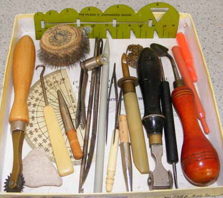 Assortment of vintage woodworking tools