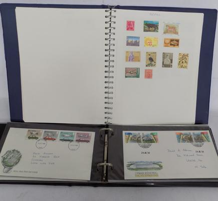 1970's Stamp album  - 1st Day covers