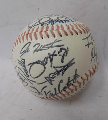 Signed collectors baseball