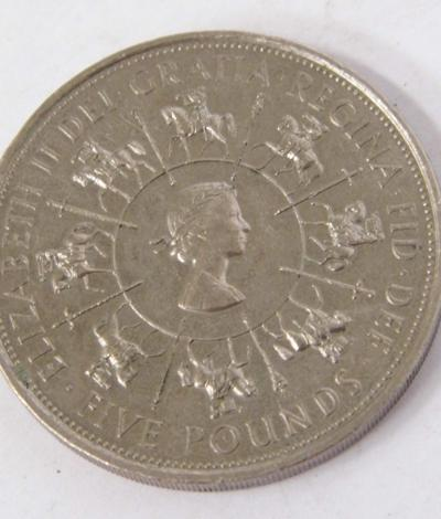 Five pound coin, 1993