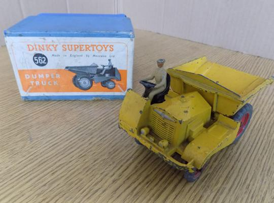 Boxed Dinky Supertoys, 1951, Dumper Truck No. 562