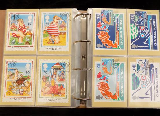 Fine collection of postcards with FDI cancels