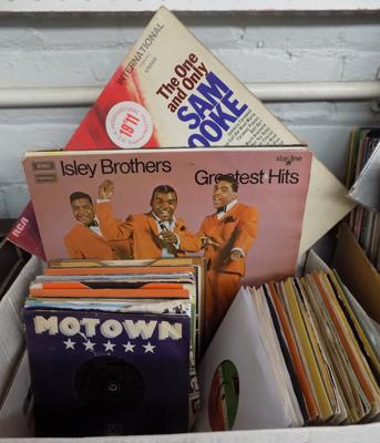 Box of Soul and Motown records