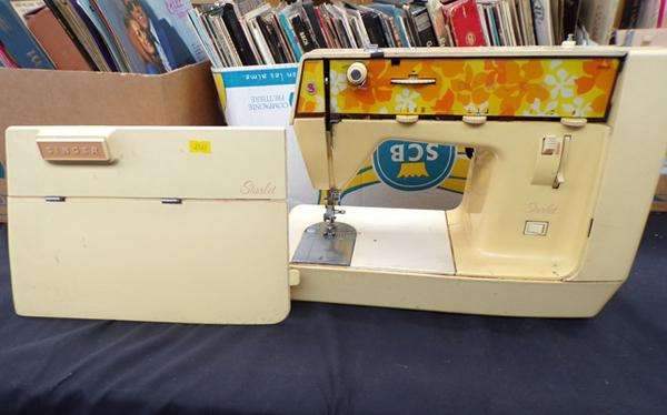 Singer starlet sewing machine-no power lead