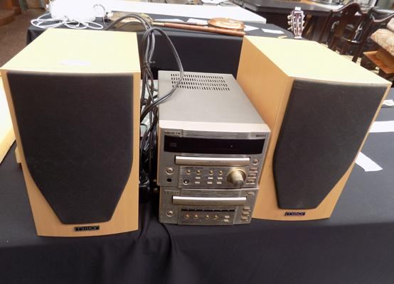 Teac separates with Mission speakers